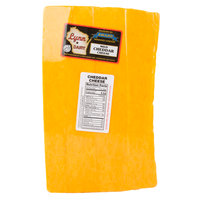 Yellow Mild Cheddar Cheese - 10 lb. Solid Block