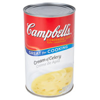 Campbell's 50 oz. Can of Cream of Celery Condensed Soup - 12/Case