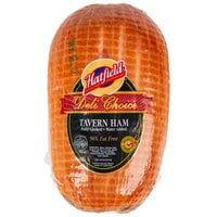 Hatfield 7 lb. Fully Cooked Tavern Ham - 2/Case