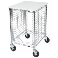 Metro RE1P End Load Portable Wire Prep Rack (Unassembled) - 16 Pan Capacity