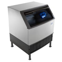 Manitowoc UDF0310A NEO 30 inch Air Cooled Undercounter Dice Cube Ice Machine with 119 lb. Bin - 115V, 286 lb.