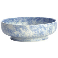 Oneida F1463060301 Studio Pottery Cloud 14 oz. Porcelain Footed Bowl / Ramekin - 24/Case
