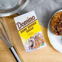 Domino Dark Brown Sugar 1 lb. Box