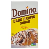 Domino Dark Brown Sugar 1 lb. Box - 24/Case