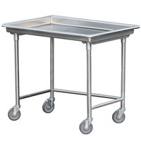 Steril-Sil STE-44-BN Mobile Sorting Table