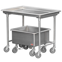 Steril-Sil LSS-44-BN Mobile Sorting Station with Soak Sink