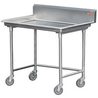 Steril-Sil STE-44-BS Mobile Sorting Table with Backsplash