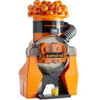 Zumoval Heavy-Duty Compact Automatic Feed Orange Juice Machine - 45 Oranges / Minute