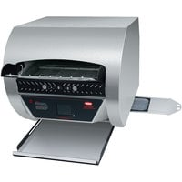 Hatco TQ3-2000 Toast Qwik Stainless Steel Conveyor Toaster with 2 inch Opening and Digital Controls - 208V, 4020W