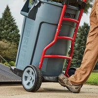 Rubbermaid 1997410 250 lb. Construction and Landscape Trash Can Dolly