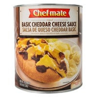 Chef-Mate #10 Can Basic Cheddar Cheese Sauce - 6/Case