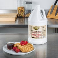 Golden Barrel Sugar Free Pancake and Waffle Syrup 1 Gallon Container - 4/Case