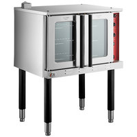 Cooking Performance Group FEC-100 Single Deck Full Size Electric Convection Oven - 240V, 11 kW
