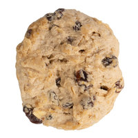 David's Cookies 3 oz. Preformed Oatmeal Raisin Cookie Dough - 107/Case