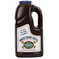 Sweet Baby Ray's 1 Gallon Citrus Chipotle Barbecue Sauce - 4/Case