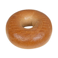 Original Bagel 4.5 oz. New York Style Whole Wheat Bagel - 75/Case
