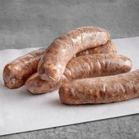 Warrington Farm Meats 7 inch Bacon Cheddar Jalapeno Sausage - 10 lb.
