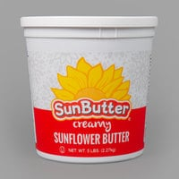 SunButter 5 lb. Creamy Sunflower Spread - 2/Case