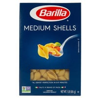 Barilla 1 lb. Medium Shells Pasta   - 12/Case