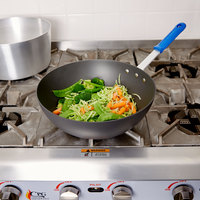 Vollrath H4015 Wear-Ever 11 1/2 inch HardCoat Aluminum Stir Fry Pan with Cool Handle