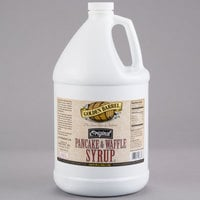 Golden Barrel Pancake and Waffle Syrup 1 Gallon Container - 4/Case