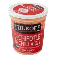 Tulkoff 30 oz. Spicy Chipotle Chili Aioli - 6/Case