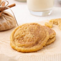 David's Cookies 1.5 oz. Preformed Snickerdoodle Cookie Dough - 216/Case