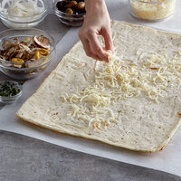 Venice Bakery 12 inch x 16 inch Seasoned Vegan Gluten Free Flatbread Crust - 24/Case