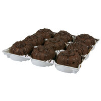 Sweet Street Desserts 9-Count Molten Chocolate Lava Cake   - 4/Case