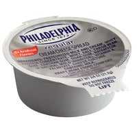 Philadelphia 0.75 oz. Original Cream Cheese Spread Portion Cups - 100/Case