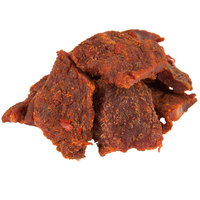 Uncle Mike's 1.6 oz. Pack Spicy Hot Beef Jerky - 16/Case