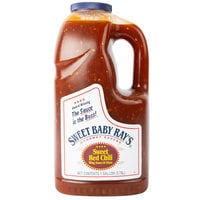 Sweet Baby Ray's 1 Gallon Sweet Red Chili Pepper Wing Sauce and Glaze