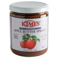 Kime's 17 oz. Unspiced Apple Butter Spread - 12/Case