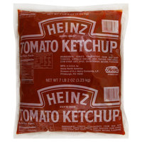Heinz #10 Fancy Tomato Ketchup Pouch 114 oz. Pack - 6/Case