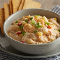 Blount Fine Foods 4 lb. Shrimp and Roasted Corn Chowder - 4/Case