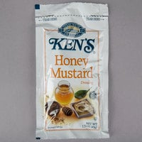 Ken's Foods 1.5 oz. Honey Mustard Dressing Packet - 60/Case