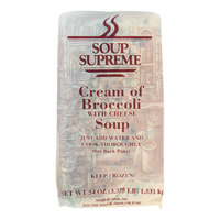 Soup Supreme 64 oz. Cream of Broccoli with Cheese Soup - 4/Case