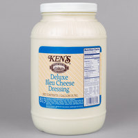 Ken's Foods 1 Gallon Deluxe Bleu Cheese Dressing