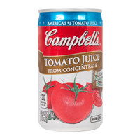 Campbell's 5.5 fl. oz. Tomato Juice - 48/Case