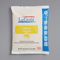 LeGout 13.7 oz. Powdered Instant Cheese Sauce Mix - 8/Case