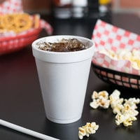 Dart 12J12 12 oz. Customizable White Foam Cup - 1000/Case