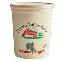 Pequea Valley Farm 32 oz. Raspberry Yogurt - 6/Case