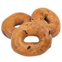 Original Bagel 4.5 oz. New York Style Cinnamon Raisin Bagel - 75/Case