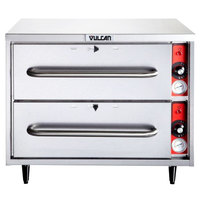 Vulcan VW2S Freestanding Two Drawer Warmer - 208/240V, 950W