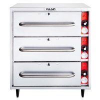 Vulcan VW3S Freestanding Three Drawer Warmer - 208/240V, 1425W
