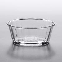 GET ER-020-CL 2 oz. Clear Fluted SAN Plastic Ramekin - 48/Case