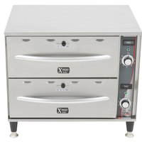 APW Wyott HDDi-2 2 Drawer Warmer - 120V