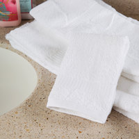 Oxford Belleeza 13 inch x 13 inch 100% Ringspun Cotton Wash Cloth 1.5 lb. - 300/Case