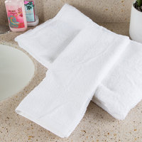 Oxford Belleeza 16 inch x 30 inch 100% Ringspun Cotton Hand Towel 4.5 lb. - 84/Case