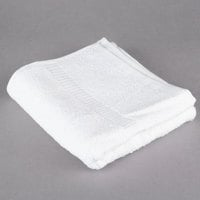 Oxford Belleeza 16 inch x 30 inch 100% Ringspun Cotton Hand Towel 4.5 lb. - 12/Pack